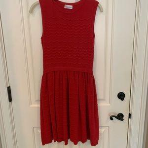 Red valentino knit dress